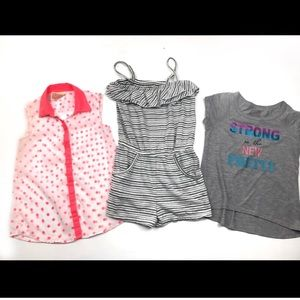 Girls items size small 6/6x